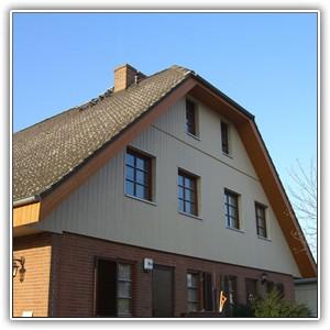 Holz Optik Fassaden Kerrafront