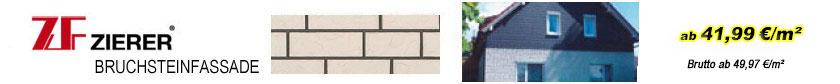Fassadenverkleidungen - Zierer Bruchsteinfassade