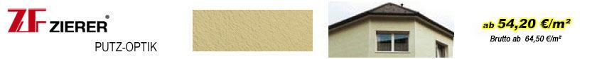 Fassadenverkleidungen - Zierer Putz-Optik Fassadenelemente