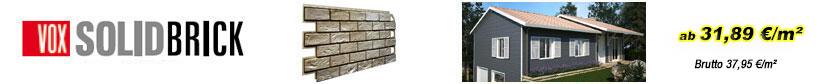 Fassadenverkleidungen - Solid Brick Fassadenelemente