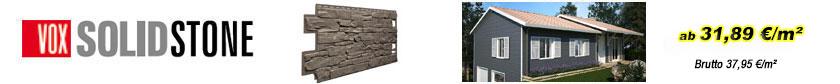 Fassadenverkleidungen - Solid Stone Bruchsteinfassade