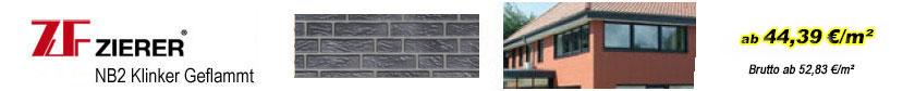 Fassadenverkleidungen - Zierer Klinkerfassaden Geflammt