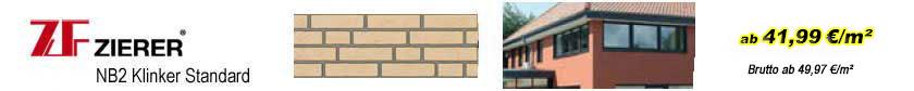 Fassadenverkleidungen - Zierer Klinkerfassaden Standard